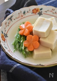 『白だしで簡単☆高野豆腐のうま煮【冷凍・作り置き】』