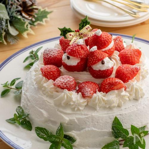 炊飯器deショートケーキ♪