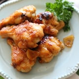 鶏手羽元のガリバタチキン