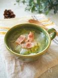 とろとろ♪白菜とベーコンと大根おろしのスープ