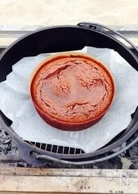 『ダッチオーブンde濃厚チョコレートケーキ』