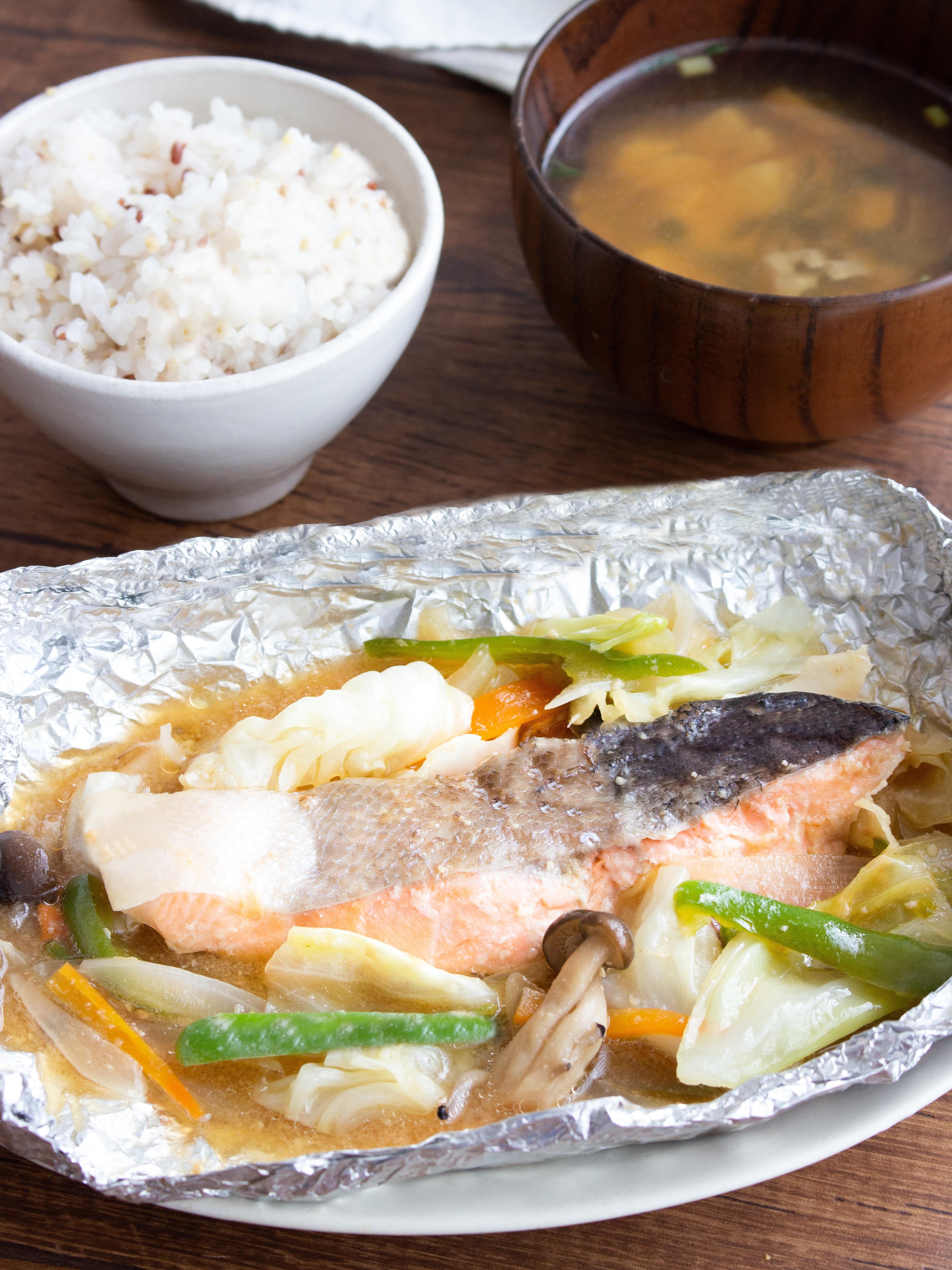 の レシピ 焼き 鮭 ちゃんちゃん
