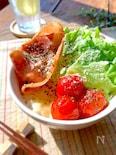 電子レンジで100点!WチーズのBLT丼♡(炙れば120点)