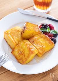 『ふわとろ食感♡フレンチトースト』