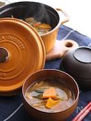 【STAUB】根菜たっぷりの減塩みそ汁