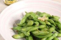 クセになる旨辛味!枝豆のペペロンチーノ レモスコ風味