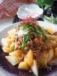 【豚ひき肉100g*大根カサ増し】豚ひき肉と大根の韓国風炒め
