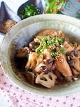 【タレでご飯がススム】シャキッとれんこんと手羽中のピリ辛炒め