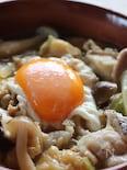 白菜とキノコ、豚バラのクタクタ煮