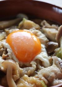 『白菜とキノコ、豚バラのクタクタ煮』