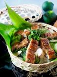 鰻ときゅうりのちらし寿司【市販の蒲焼きかさ増し】