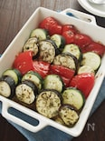 野菜がウマい!夏野菜のガーリックマーガリン焼き