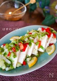 『お豆腐で簡単♡『豆腐のエスニックサラダ♪』』