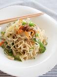 たっぷり野菜の中華風焼きそば