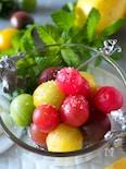 【まるでデザートみたい】カラフルトマトのはちみつ塩マリネ