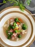 お正月の残り野菜de作る♡食べるデトックススープ