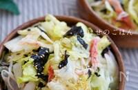 \5分で/カニカマレタスの美味サラダ♪