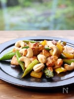 定番中華♪鶏肉、アスパラ、カシューナッツ炒め
