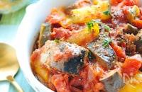 【炊飯器で一発】サバ缶ラタトゥイユ
