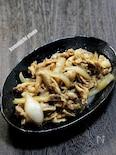 定食屋さん風「豚の生姜焼き」