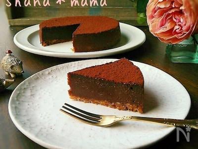 ケーキ 簡単 チョコ