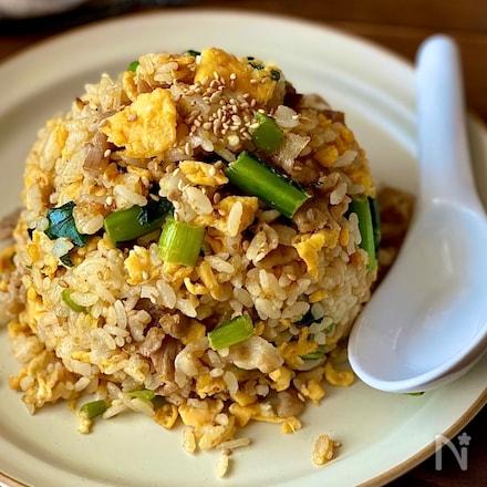 栄養満点!味も満点!小松菜チャーハン