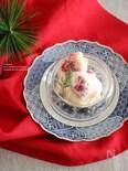 イチゴと白味噌の白和え