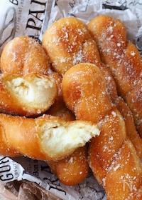 『発酵なし!ふわふわパンドーナツ』