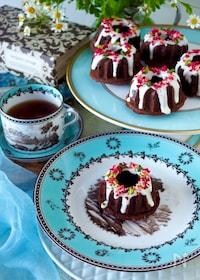 『【グルテンフリー】混ぜて焼くだけチョコレートクグロフ』