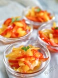 完熟梅で作るパプリカマリネ