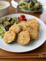 『ズッキーニの肉巻きピカタ』#簡単#お弁当