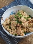 水切り不要。ツナ入り炒り豆腐【簡単・ヘルシー・めんつゆのみ】