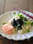 磯辺餅の明太子醬油ソース