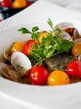 【フライパンで簡単】白身魚とあさりとトマトのアクアパッツァ♪