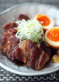 『フライパンで作るやわらか煮豚』