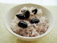 〈くらし薬膳〉黒豆ご飯