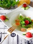 アボカドローズとゆで卵の明太マヨソース#簡単おもてなし