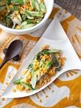 レンジで3分・ほんのり和風「アスパラととうもろこしのサラダ」