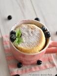 甘酸っぱさがクセになる!ブルーベリーマグカップケーキ