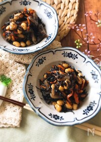 『『簡単和食♡』ひじきと大豆とこんにゃくの煮物』