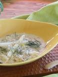 ホワイトアスパラのチーズリゾット