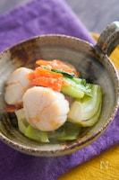 帆立とちんげん菜の中華炒め