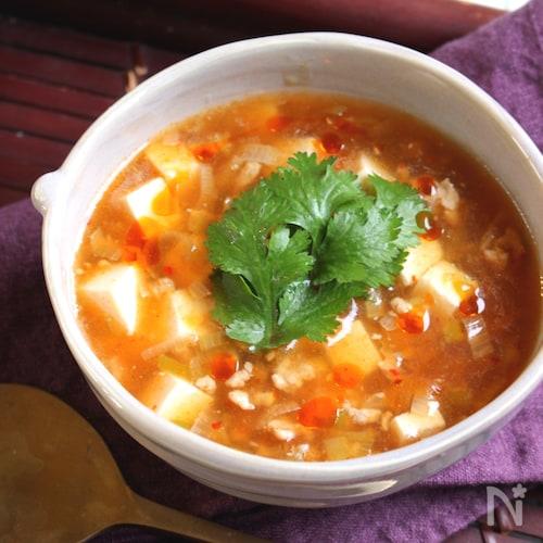 スープde飲む麻婆豆腐<栄養計算付>