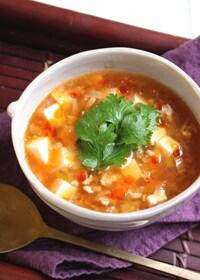 『スープde飲む麻婆豆腐<栄養計算付>』