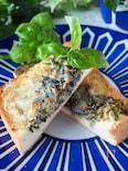 《こんがり磯の香り》たっぷりしらすと海苔のマヨチーズトースト