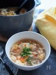 おなかも満足♡酸辣湯豆腐スープ