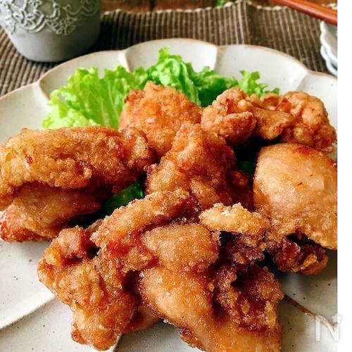 鶏の唐揚げ[オイスターソース味]