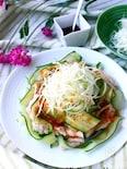 【レンジ調理】鶏むね肉の雲白肉(ウンパイロウ)風