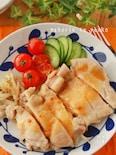 レンジで簡単!お肉柔らか*鶏もも肉のピリ辛味噌ソース
