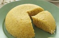 ふわもち♡レンジですぐできる♪オートミールバナナ蒸しパン♡